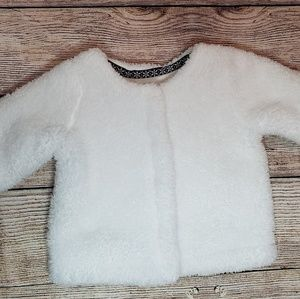 Carter's baby fur faux coat